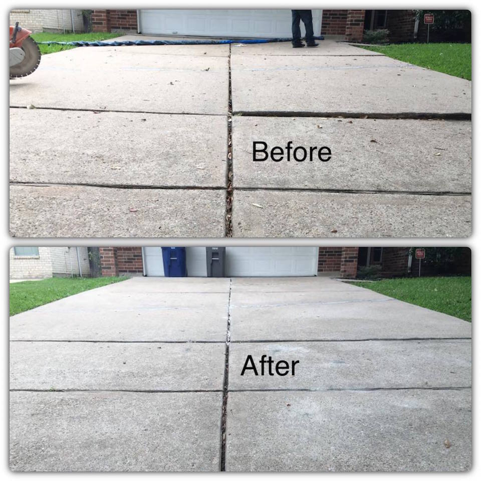 Driveway Concrete Leveling Orlando